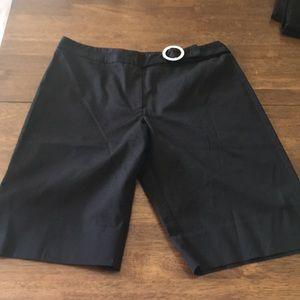 White House Black Market Black Shorts - Sz 12